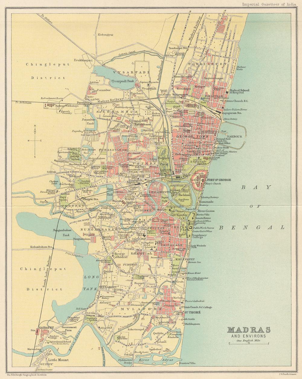 Speculation on Property in Chennai: Location Besant nagar