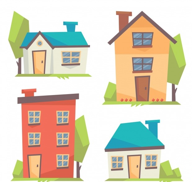 Sort the dilemma on choosing between Houses or Flats