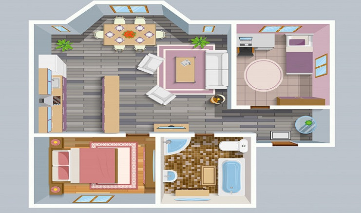 Tips to expand the space of 2 BHK apartment