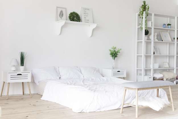 Create a peaceful bedroom with these simple tips