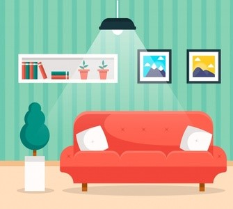 How does the colour combination of your home affect your mood!